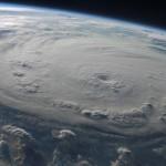 Hurikán Felix nasnímaný z kosmické stanice ISS nad východním pobřeží Hondurasu, 3. září 2007, zdroj:NASA