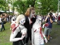 Zombie walk Praha 2011