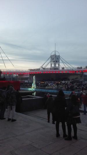 Oslava čínského nového roku u Křižíkovy fontány